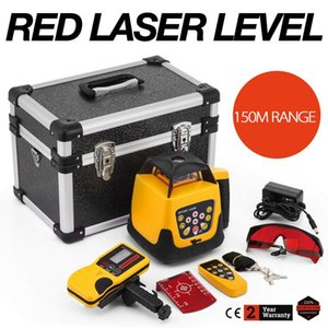 Free shipping Red Rotary Laser Level Self-leveling Automatic Construction Building Rotating