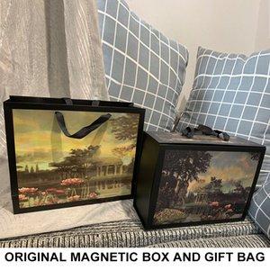 Bolsa de hombro de la venta caliente NUEVO Marmont Mujeres Accesorios Caja de regalo con la tarjeta de Certificado de factura # 55875