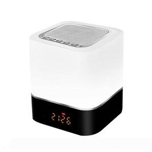 noite colorido inteligente sem fios luzes coloridas alto-falante Bluetooth acende luz atmosfera emocional noite LED Bluetooth R21 áudio