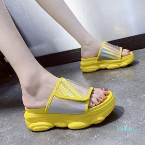 Hot sale-2020 New Fashion Slippers For Ladies Summer Platform Sandals