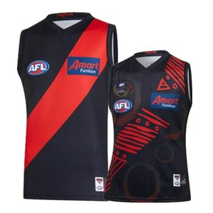 AFL 2020 ESSENDON BOMBERS GUERNSEYS JERSEY size S-XXXL Print custom names and numbers Top quality Free shipping
