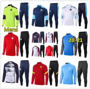 new marseille psg inter milan soccer tracksuit 20 21 inter 축구 훈련 tracksuit 2020 2021