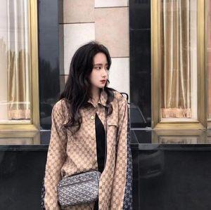 2020 04 nuovi giacca di jeans delle donne del rivestimento web celebrità del cardigan delle donne di caduta cappotto patchwork jacquard delle donne della moda Instagram