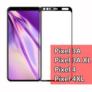 Screen Phone Cgjxs 5d copertura completa di vetro temperato protezione per Google Pixle 4 pixel4 Xl Pixel 3a Xl Pixel3a Xl Film Glass