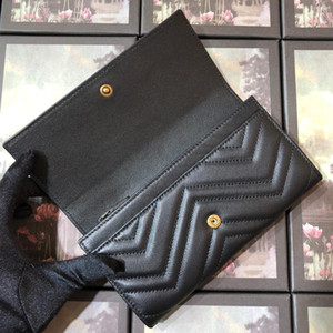 designer wallets for women Classic women genuine real leather Wallet top quality Clutch feminine casual purse Long Wallet