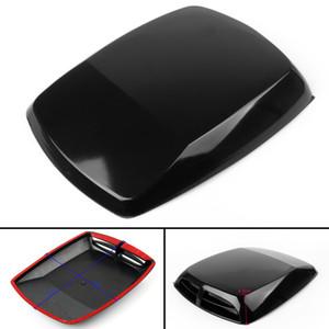 Areyourshop Car Universal Air Flow Vent Paintable Decorative Car Hood Engine Black Car Auto Accessories Parts