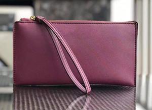 Tasarımcı-7 renk marka tasarımcı cüzdan wristlets kart sahipleri Madeni Para Çanta kadınlar kızlar Bilek çantası 3 katman