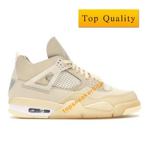 أحذية J 4 FW الشراع الأبيض أحذية كرة السلة رجل حذاء رياضة أعلى جودة FW2020 النساء لكرة السلة مع صندوق حجم 36-46