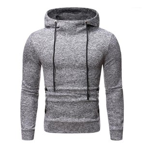Clothing Solid Color Mens Designer Hoodies Casual Snow Pattern Drawstring Sports Mens Hoodies Fashion Pullover Males