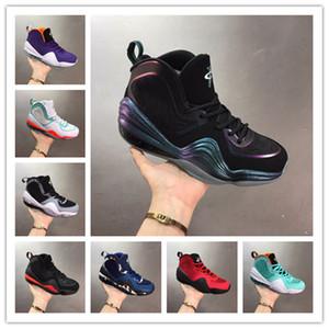 Penny Alta Qualidade 5 5S capa de invisibilidade V sapatos Mens tênis de basquete Hardaway Verde Azul OG Camo Esporte Formadores Sneakers Tamanho 40-46