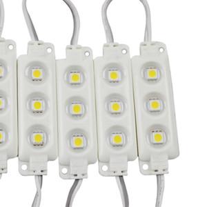 Hintergrundbeleuchtung LED-Module Injection-Modul RGB DC12V LED-Module Wasserdichte IP65 3LEDs 5050 5630 führte Schaufenster Licht für Werbetafel