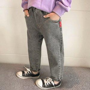 2020 automne nouveaux garçons jeans wear imprimés pantalons longs en coton vêtements pour enfants jeans coréenne pour les enfants des enfants des enfants