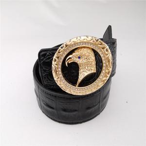 Neue Designer-Gürtel mit Schnalle Ledergürtel Diamant Adler für Männer und Frauen Mode Luxus Warte Gürtel gute Qualität