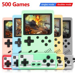 ALLOYSEED 500 ألعاب ريترو لعبة فيديو لاعب الجيب المحمولة المصغرة المحمولة لعبة آلة وحدة التحكم للأطفال هدايا الحنين لاعب