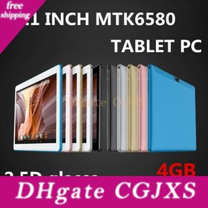 Dhl 10 Zoll Mtk6580 Octa-Core 1 .5ghz Android 6 .0 3g Telefon-Anruf-Tablet-PC gps Bluetooth Wifi Dual-Kamera 4gb 64gb Tastatur-Abdeckung Fall G -10