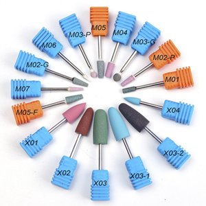 1PC التقيد 16 نوع مطاط السيليكون السيراميك طحن الأزيز مسمار الفن القاطع تلميع العازلة الملفات آلة كهربائية مثقاب