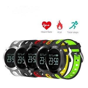 Bluetooth Smart Cgjxs reloj pulsera, Intelligente IP68 SportsWatch Dm58 podómetro del ritmo cardíaco Natación Ejercicio Inseguitore reloj Smart Watch