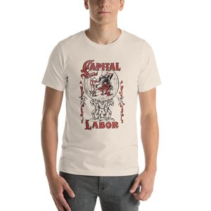 Unisex Capital e Trabalho Edwardian socialismo comunista socialista Camiseta