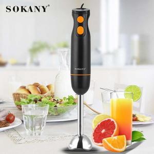 SOKANY 2 Speeds Hand Blender Electric Blender Mixer Kitchen Detachable Hand Blenders Egg Beater Vegetable Stand Blend
