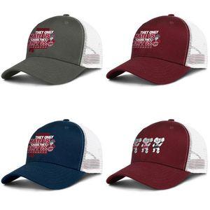 American football team alabama logo Adjustable Trucker Cap Fashion Baseball Hat Vintage Dad Ball Caps for Men Women Alabama Crimson Tide