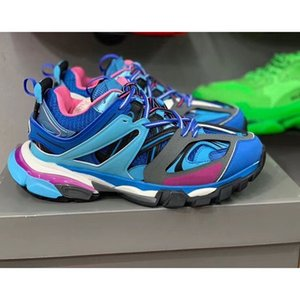 Balenciaga 2020 New 3M Triple S Track 3.0 Running Shoes Release 3 Tess Gomma Jogging Chaussures Maillé Sport Sneake Z03