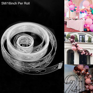 Balloon Arch Kit Balloon Garland Decorating Strip Kit 5m Roll Balloon Tape Strips Birthday Party Wedding Backdrop Decoration