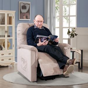 미국 주식 3-6 일 배달 ORIS FUR. 원격 제어 PP038656EAA와 파워 리프트 의자 소프트 패브릭 안락 의자 라운지 거실 소파