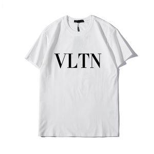 2020SS New Mens Designer T-shirt de luxe Paris mode T-shirts d'été Femmes Patternzz8valentino T-shirt Homme Top qualité 100% coton Top