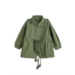 chifuna New Mode filles Veste Manteau ample veste Refroidir fille manteau enfants Outwear pour les filles enfants Costume Gilrs école