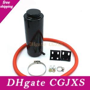Cnspeed 800 ml Plata Púrpura Rojo Cilindro de desbordamiento del radiador Depósito de líquido refrigerante Tank Universal Can Negro Azul