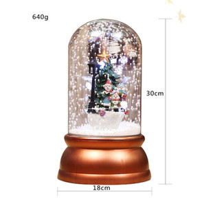 2020 New Snow Globe With Luxury Decoration Inside Car Decoration Crystal Ball Special Novelty Christmas Gift with Gift Box for VIP Customers