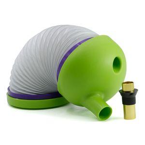 Flexible Caterpillar-Tabak-Zigaretten Rauchpfeifen Bukket Gravity Glas Rauchen Wasserleitungen für das Reisen tragbare Zigarette Rohr