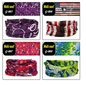 Newest Magic Scarfs Outdoor mask Multifunctional Cycling Bandana Women Men Hair band Scarf Magic Party Masks