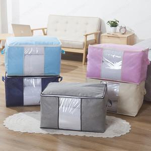 Non-woven Quilt Clothes Wardrobe Closet Storage Bag Organizer Sock Toy Sundries Organizer Bags Closet Organizer For Pillow Quilt
