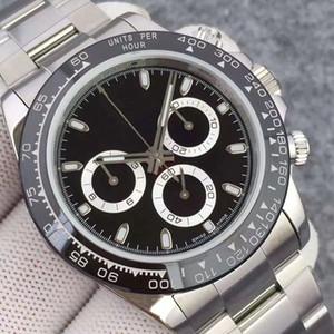 Верхняя керамическая бешель браслет механическая нержавеющая сталь автоматическое движение 2813 новая мода часы спортивные мужские часы новых мужчин наручные часы