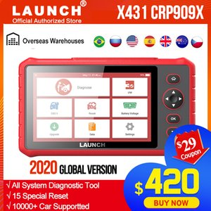 LAUNCH X431 CRP909X obd2 car diagnostic scanner professional obd2 scanner airbag SAS TPMS IMMO reset obd auto code reader crp909