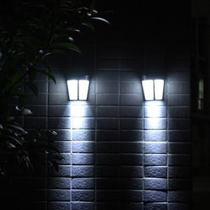 أضواء LED الشمسية مصباح الجدار لحديقة فناء ساحة درب كراج مدخل مغطاة المسار الشمسية ستريت فانوس