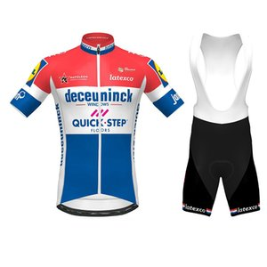 Quick Step Cycling Jersey KIT 2020 Pro Team Netherlands Champion cycling clothing Bib Shorts Kit Ropa Ciclismo