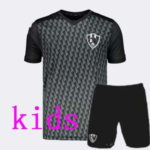 Лучшие тайские дети 2019 20 Liga Mx Клуб де Cuervos футбол Джерси 19 20 Mexico Club Главная Black Away Gray 3RD маек