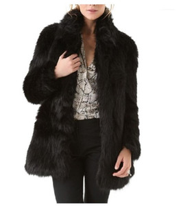 Womens Open Stitch Outerwear Designer Patchwork Solid Color Winter Fur Coats Stand Collar Thick Warm Jacket Coat