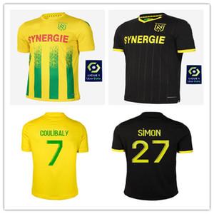 20 de Jersey del fútbol 2020 2021 hogar lejos maillot de pie camisetas de FC Nantes 21 SIMON Louzã A TOURE BLAS COCO COULIBALY MEN