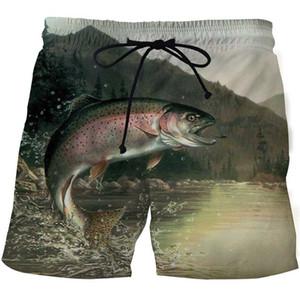Men Board Vacation Shorts Anime Short Plage Casual Quick Dry New 2020 Fishing 3D Print Summer Beach Shorts Mascuino Streetwear