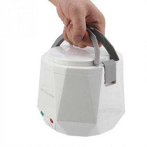 Car Rice Cooker 24v Truck Rice Cooker Mini 2 Personnes -3 Personnes Blanc Portable Safe Isolation