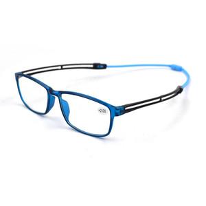 Унисекс Ultralight магнит висит шею Reading Glasses лупы Женщины Мужчина регулируемые ножки Presbyopia зрелища + 1,0 ~ + 4,0 L3