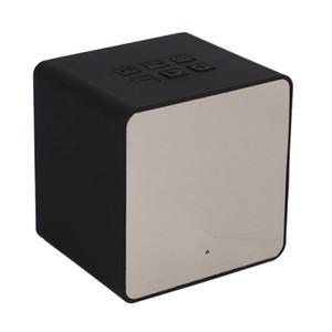 Bluetooth Mini Clock Speaker Dual Alarm Clock Music Speaker