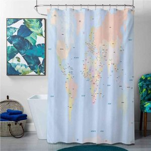 Shower Curtains Valentines Day Map,Old Fashioned Classical Political Administration Theme Borders