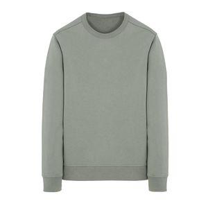 19SS 62751 CREWNECK SWEATSHIRT T0PST0NE Long Sleeve T Shirt Simple Solid Sweatshirt Fashion Pullover Sweater Sportwear Street HFLSWY293