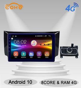 Sylphy Android 10,0 Octa Core 4 + 64G Car Multimedia Player Navegação GPS Autoradio Para Sylphy dvd 2012-2020 carro