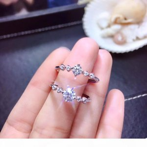 moissanite, quilates de venda Super quente, comparável aos diamantes, requintado artesanato LY191226