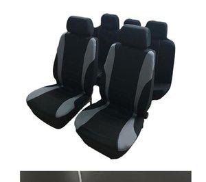Winsun 9PCS Общие сезоны Крышки 5 мест Автокресло Установить серый и черный